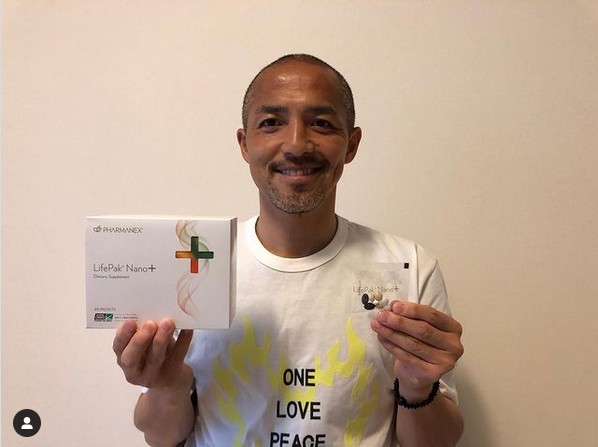 小野伸二さんがライフパック ナノ プラスについてインスタ投稿をしてくれました。