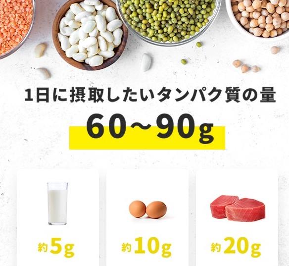 『負けない力』アップにタンパク質も充分に摂りましょう